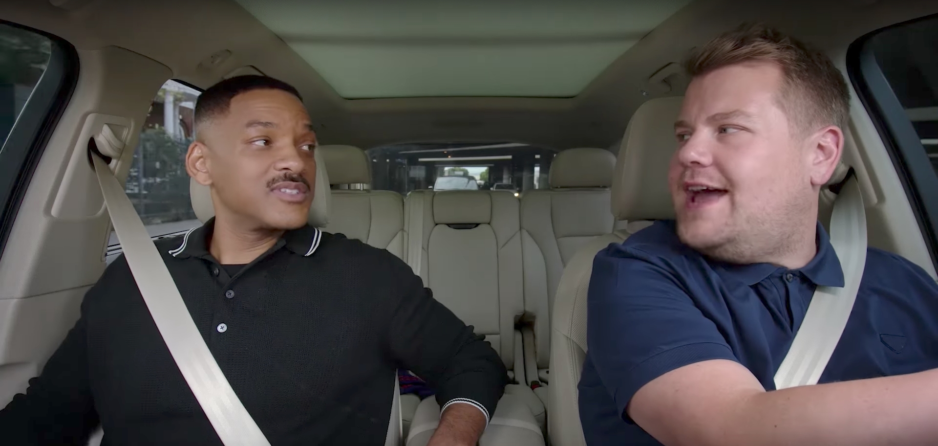 See Will Smith James Corden In Carpool Karaoke Preview Rolling