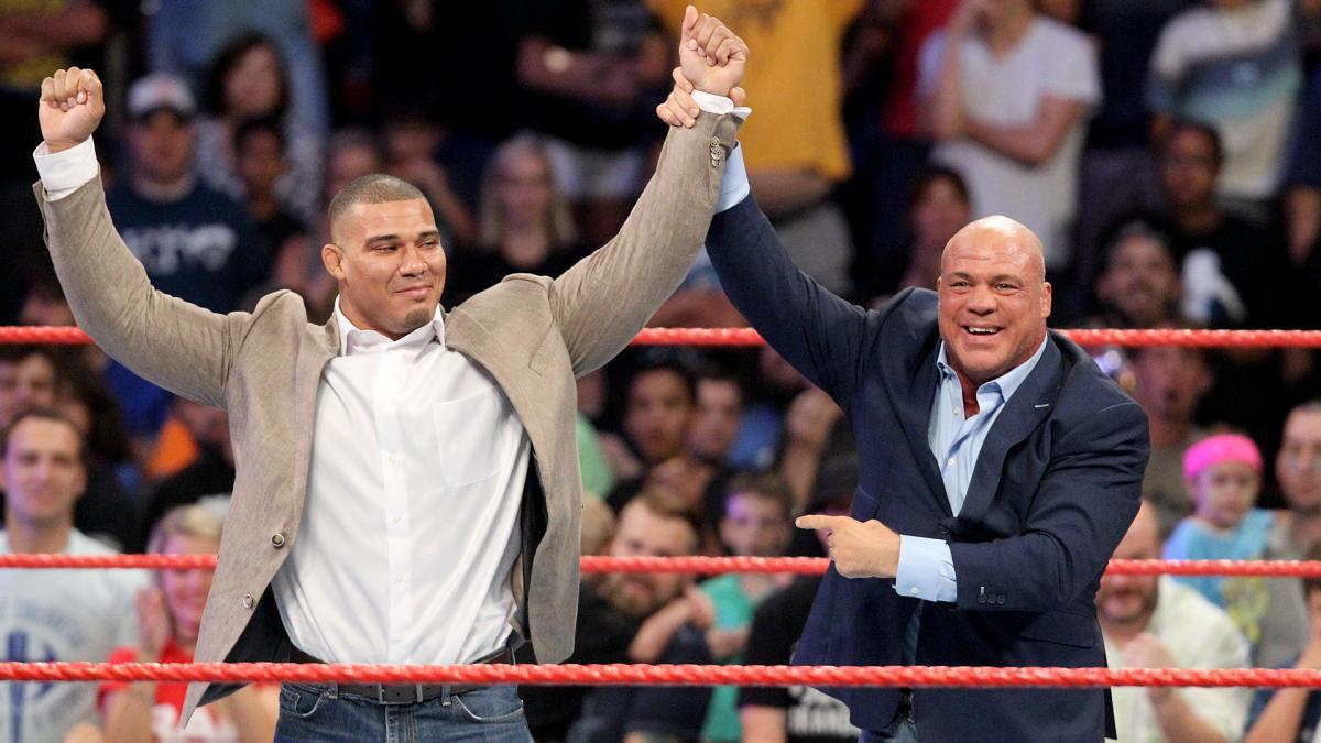 Kayfabe entre Jason Jordan e Kurt Angle é mantido até os dias de hoje