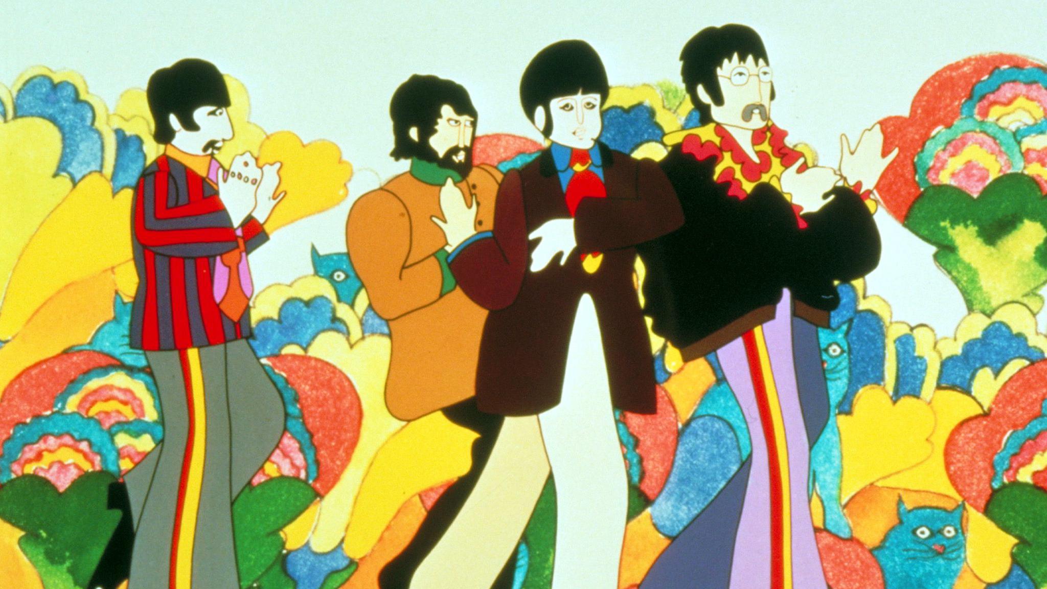 Beatles Plan Yellow Submarine 50th Anniversary Comic Book