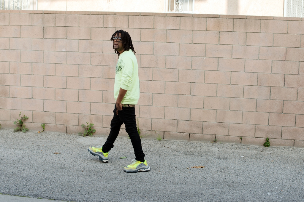 03 Greedo in Los Angeles in April 2018.