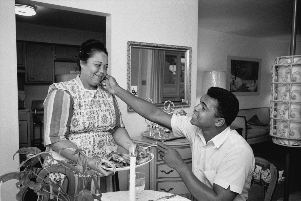 """""""He loved chicken and he loved that chicken that she made for him,"""" Schapiro says. """"He had a great attachment to his mother. He was very, very close to her, I would say. And she was very close to him. They had a really great relationship."""""""