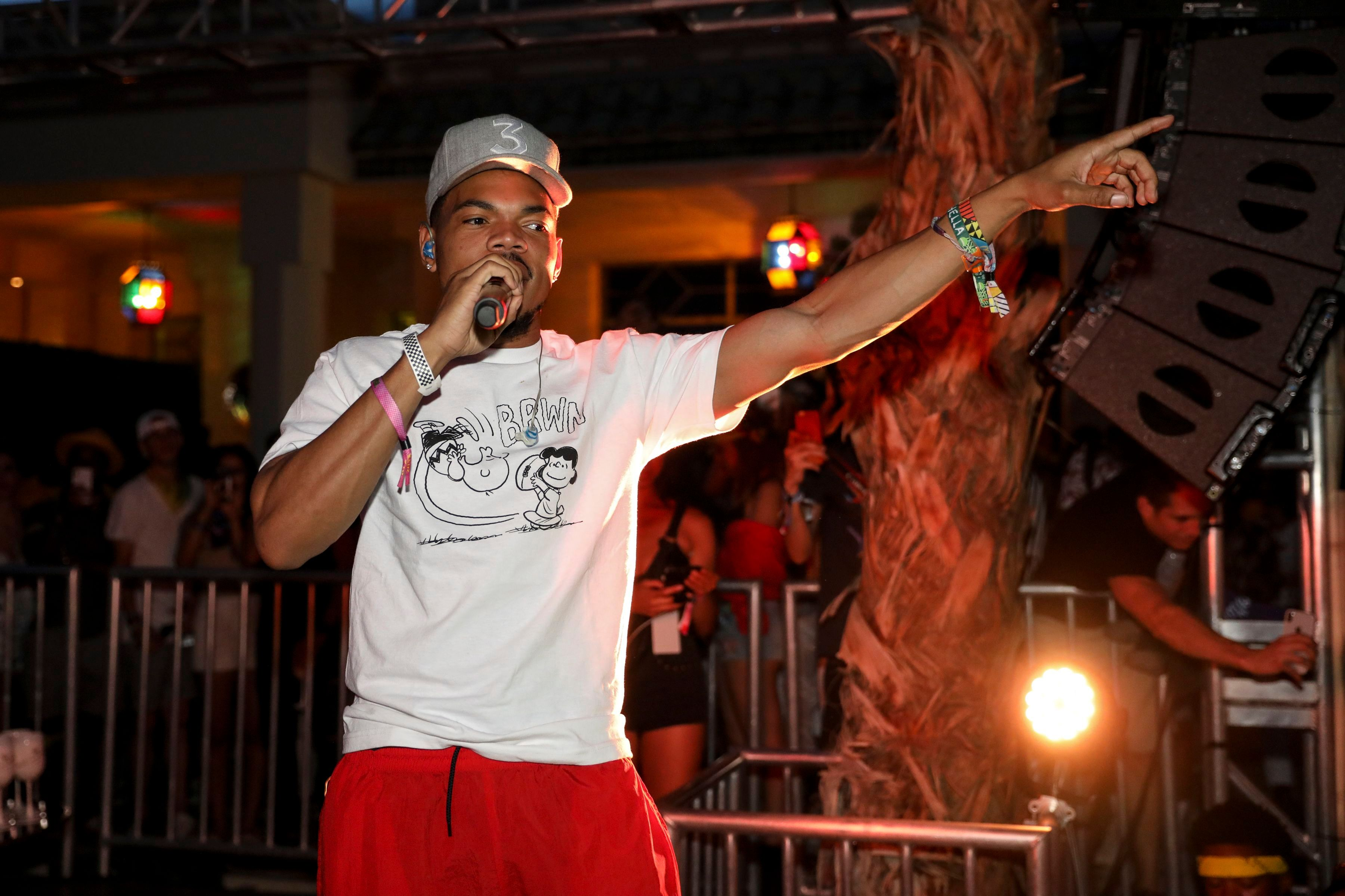 Chance The RapperREVOLVEfestival Day 2 La Quinta USA