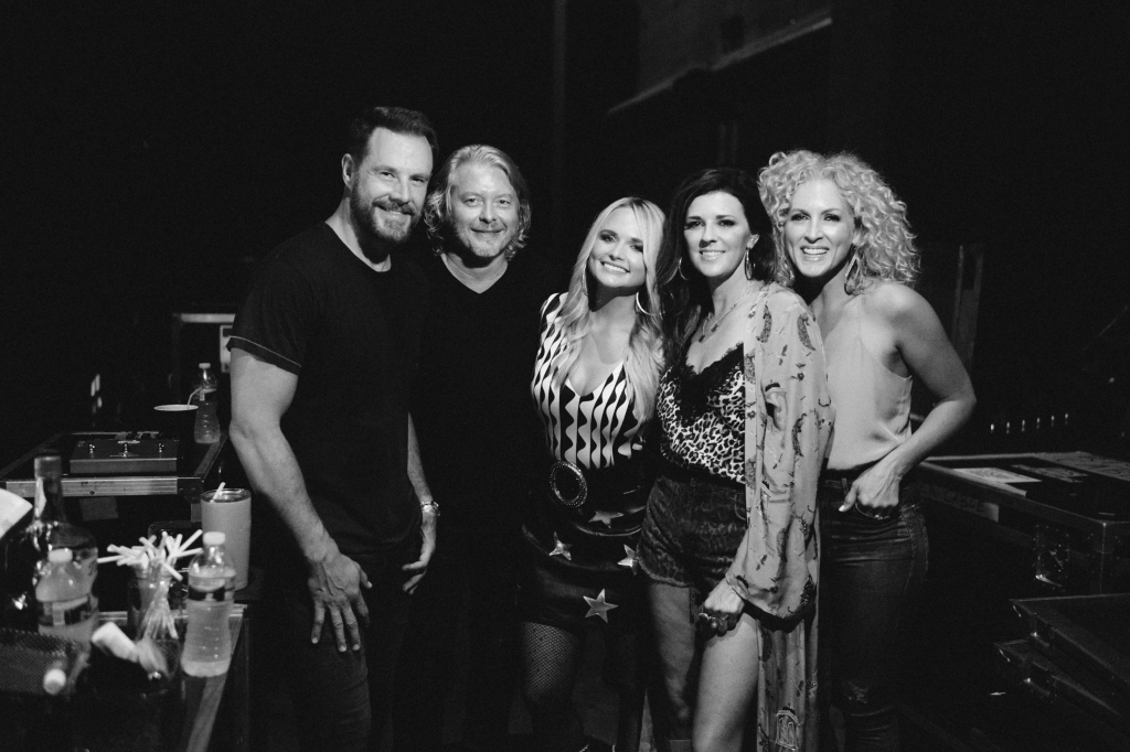 "Miranda Lambert and Little Big Town launched their co-headlining Bandwagon Tour last Thursday. ""First night of the Bandwagon Tour in Charlotte, it's about to get started,"" says Lambert. ""Get on!"""