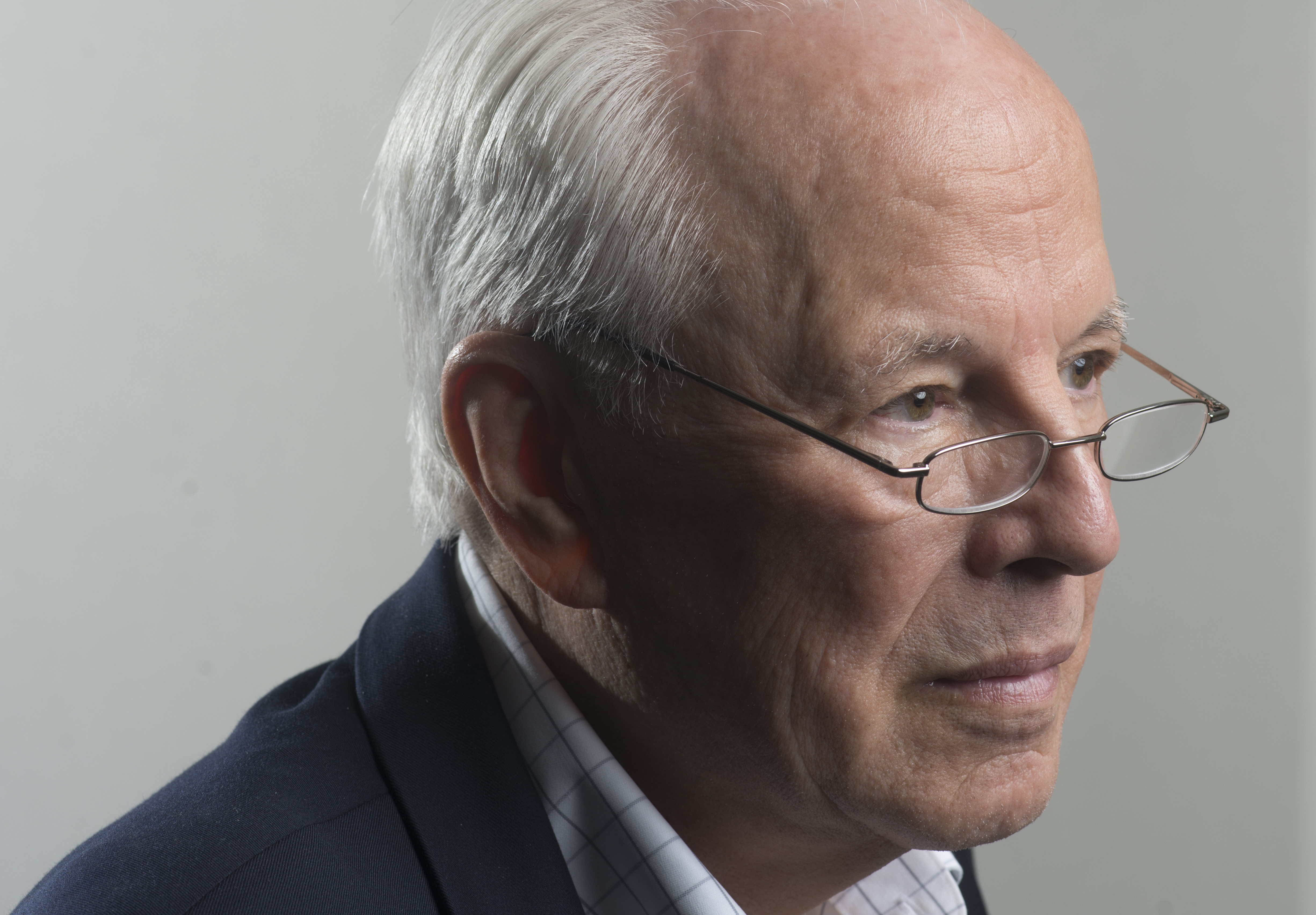 WASHINGTON, DC- JULY 24:Former White House counsel John Dean has written yet another book about Nixon. This one is based on new transcripts and promises new revelations. Just in time for the 40th anniversary of Nixon's resignation, John Dean is photographed in Washington, D.C. on July 24, 2014.(Photo by Marvin Joseph/The Washington Post via Getty Images)