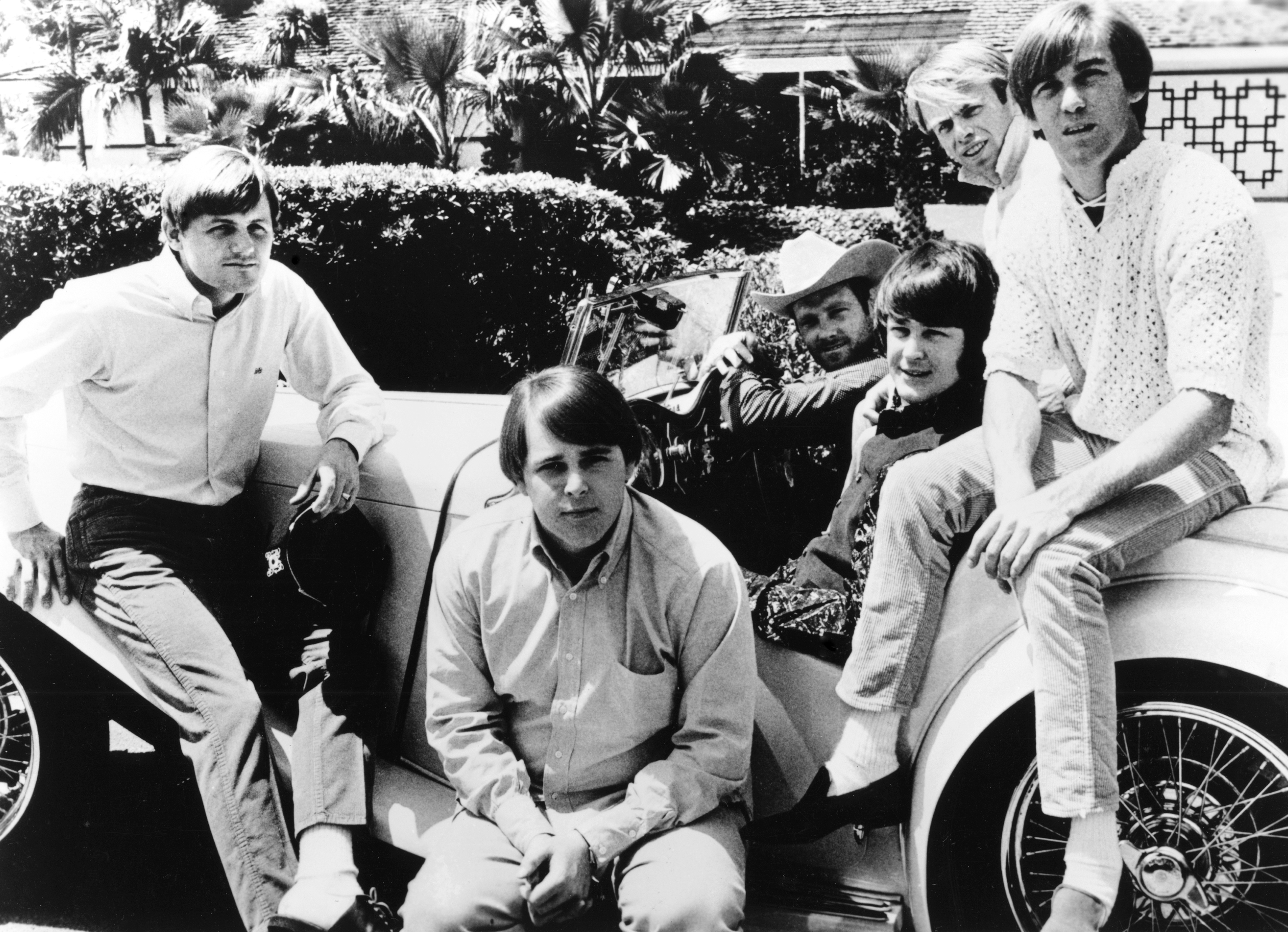 surviving beach boys put bad blood aside for rare interview
