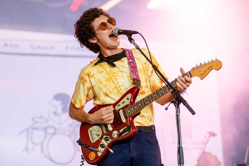MANCHESTER, TN - JUNE 07: Ron Gallo performs at the Bonnaroo Music & Art Festival on June 7, 2018 in Manchester, Tennessee. (Photo by Josh Brasted/WireImage)