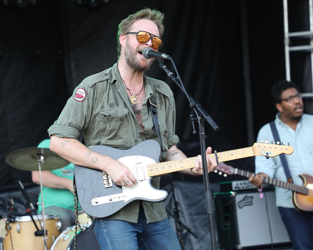 LOUISVILLE, KY - JULY 14: Hiss Golden Messenger performs during the 2018 Forecastle Music Festival at Louisville Waterfront Park on July 14, 2018 in Louisville, Kentucky. (Photo by Taylor Hill/Getty Images)