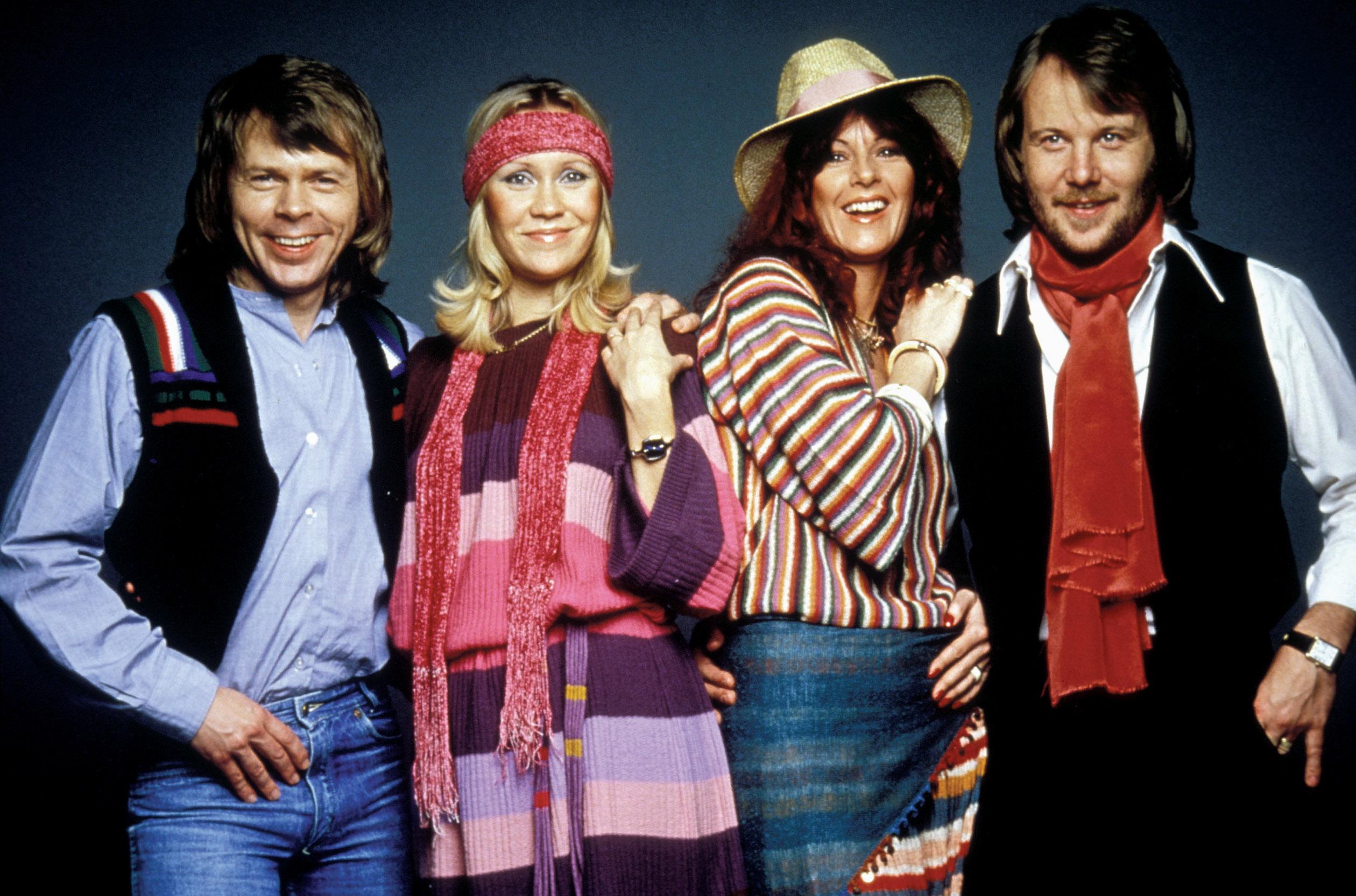 ABBA: THE MOVIE, Bjorn Ulvaeus, Agnetha Faltskog, Anni-Frid Lyngstad, Benny Andersson, 1977