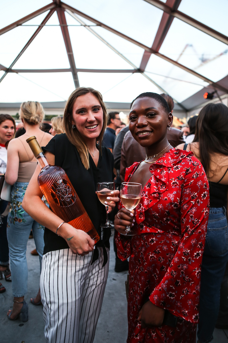 Guests enjoy the unofficial drink of summer, thanks to Urban Provence