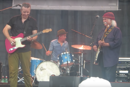 Watch David Crosby Join Jason Isbell Onstage At Newport Folk