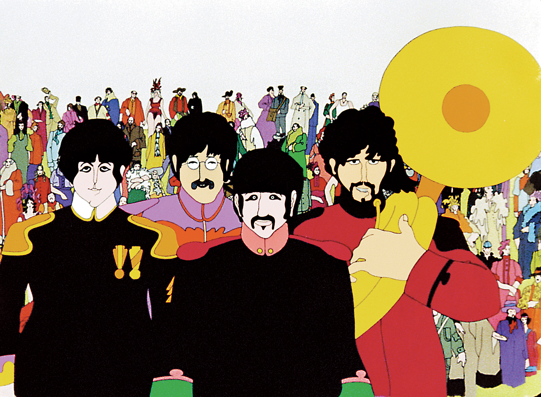 beatles yellow submarine 50 years