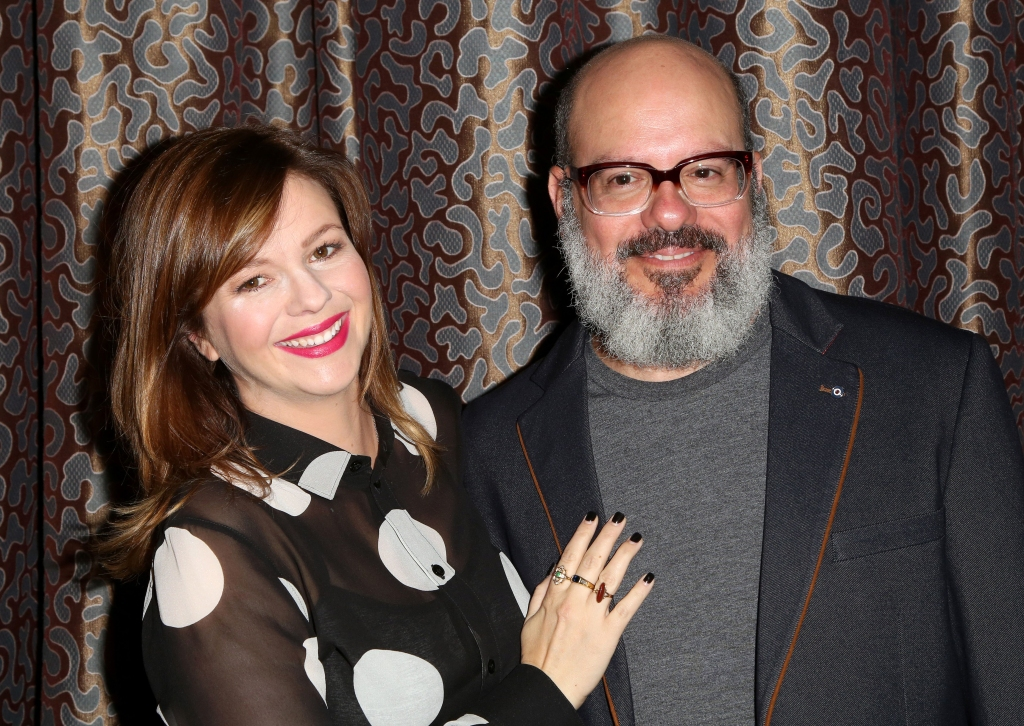 Amber Tamblyn and David Cross26th Annual Pen Center Literary Awards, Arrivals, Los Angeles, USA - 28 Sep 2016