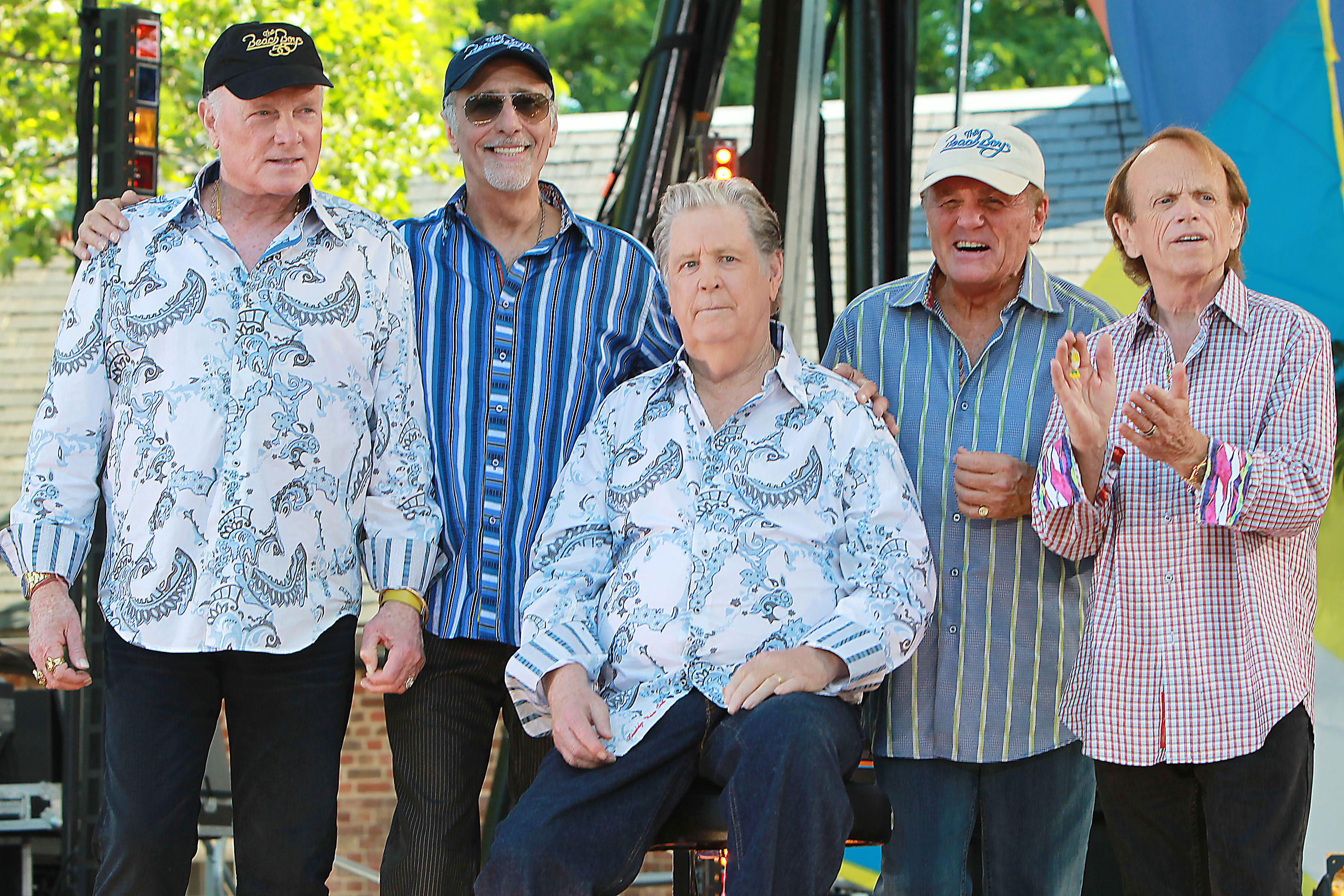 Mike Love David Marks Brian Wilson Bruce Johnston And Al Jardine The Beach Boys