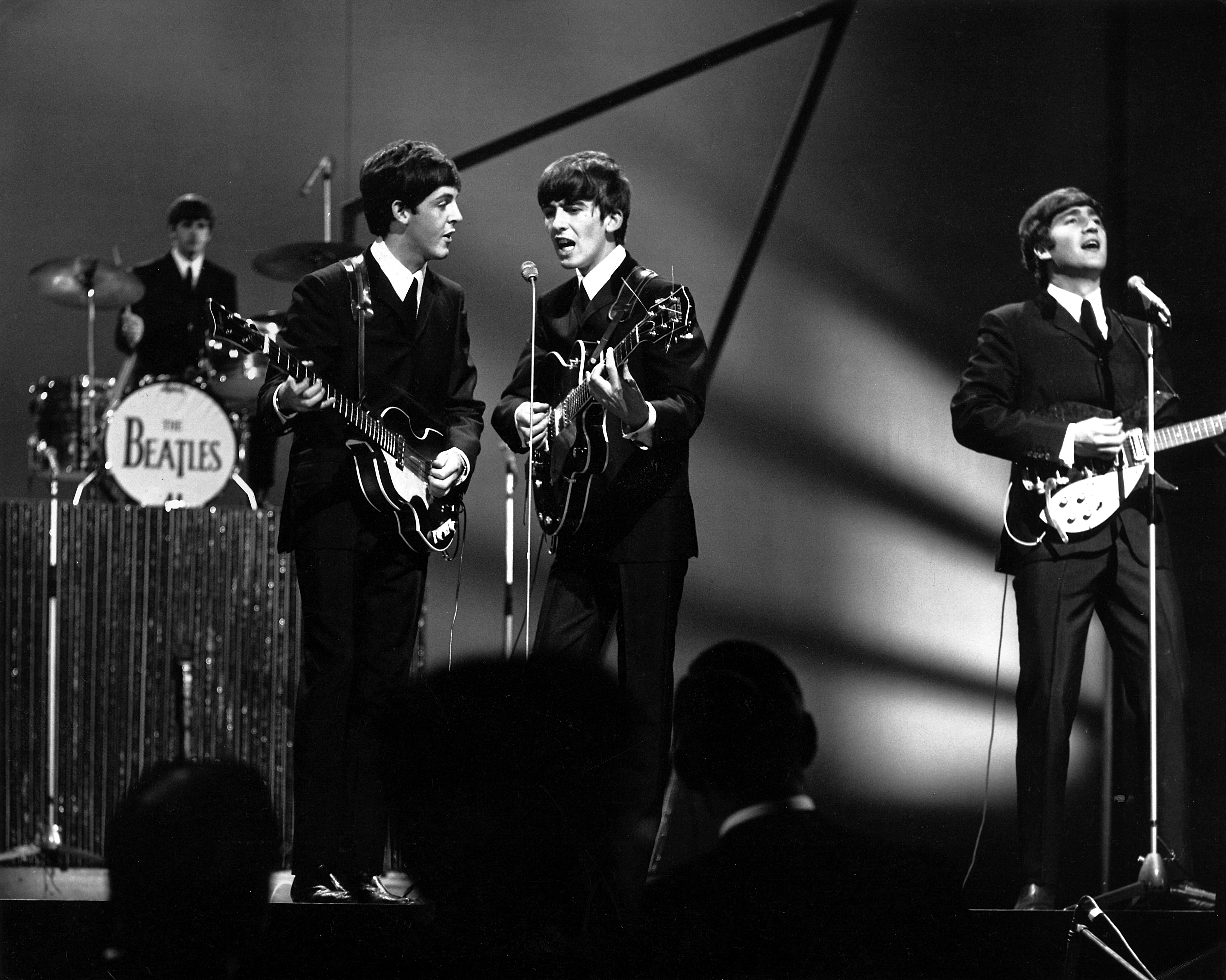 The Beatles - Ringo Starr, Paul McCartney, George Harrison, John LennonThe Beatles at the BBC Studios, London, Britain - 1963