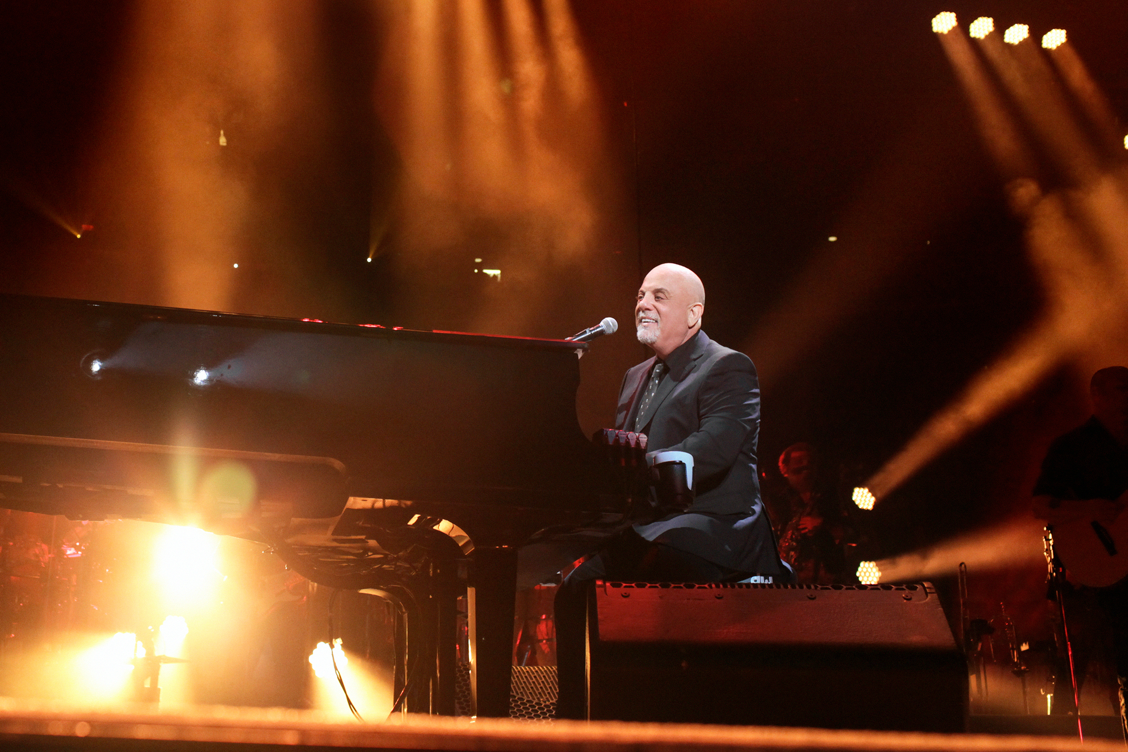 NEW YORK, NY   JULY 18: Billy Joel Performs On Stage During His 100th