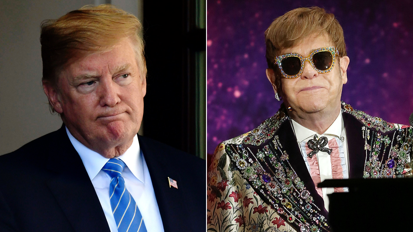 Donald Trump Compares Himself To Elton John Rolling Stone