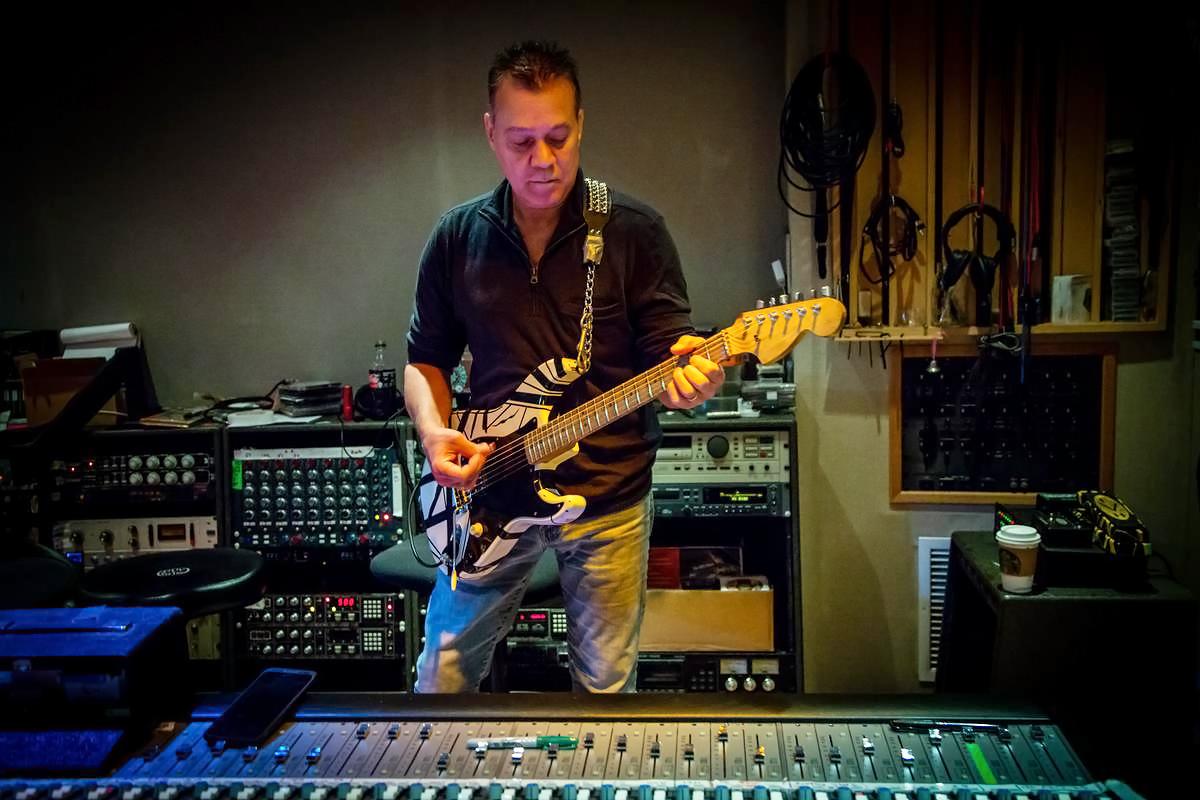 Eddie Van Halen Preps Three New Eruption Guitars