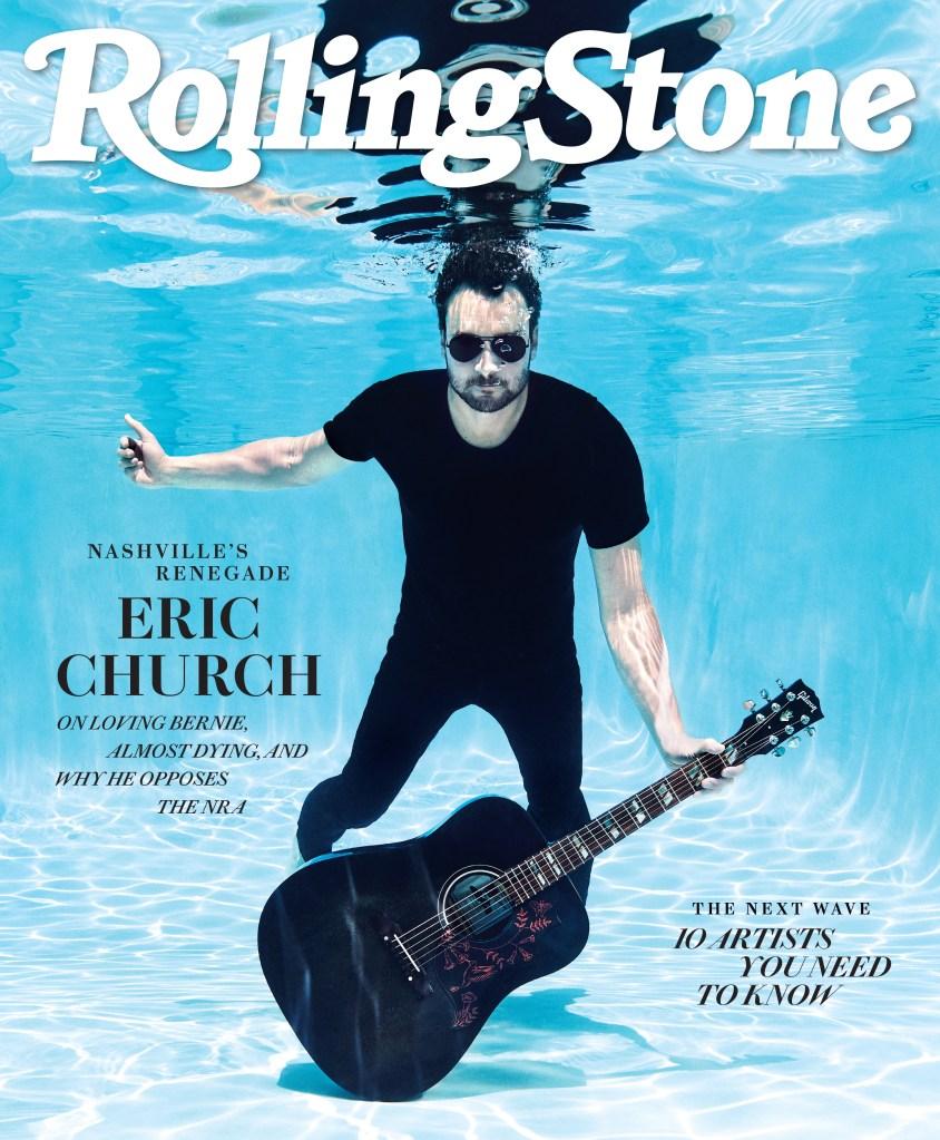 Desperate Man Singer Eric Church On Nashville Nra Bernie Sanders