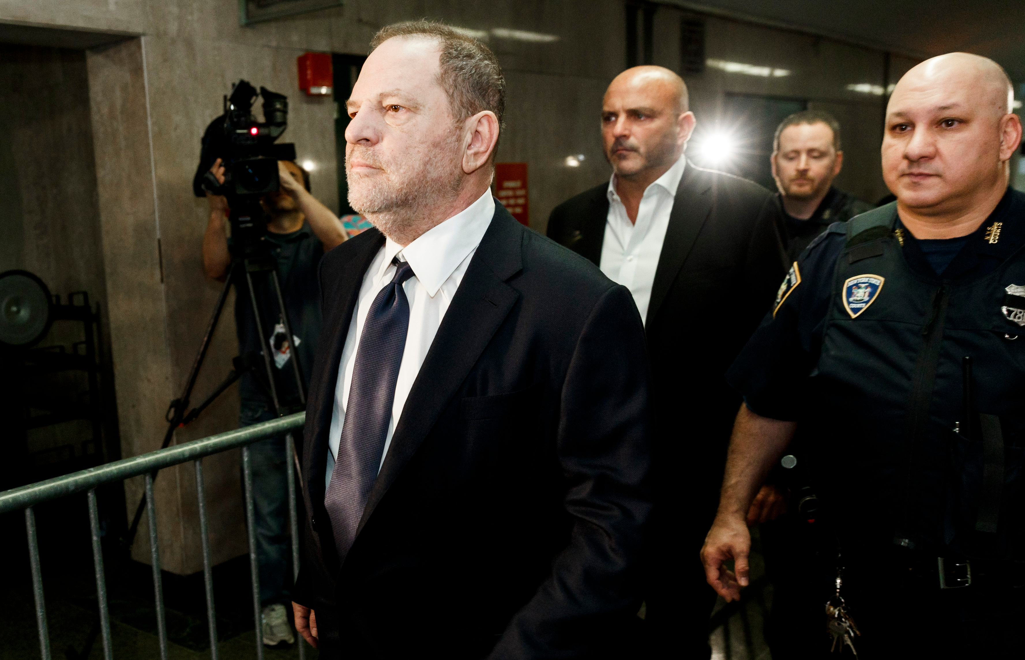 Harvey Weinstein Calls His Naked Photos Playboy After