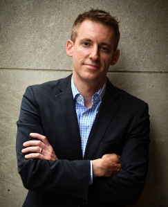 WASHINGTON, DC - JULY 6: Jason Kander, one of the rising stars of the Democratic Party. Kander, the Secretary of State of Missouri from 2013 to 2017 and a former state representative, ran for U.S. Senate in Missouri in one of the most competitive races in the country and the most expensive Senate race in state history. However, he lost.(Photo by Toni L. Sandys/The Washington Post via Getty Images)