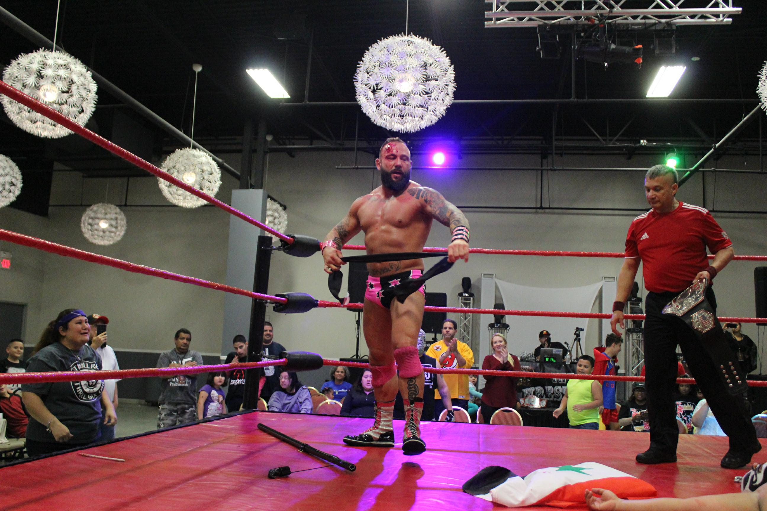 Iraq War Veterans Are Using Pro Wrestling To Fight Ptsd Rolling Stone