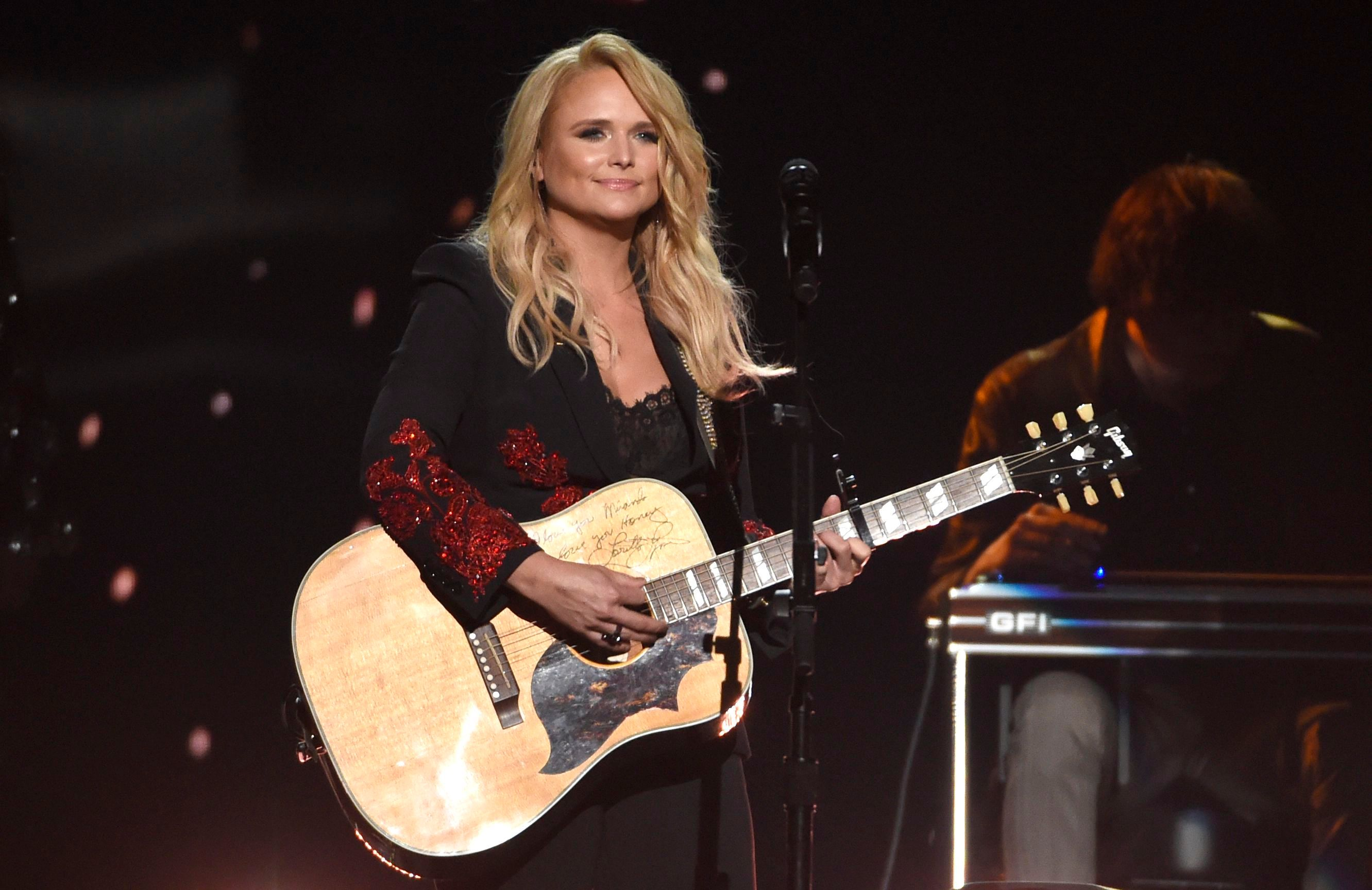 Miranda Lambert performs