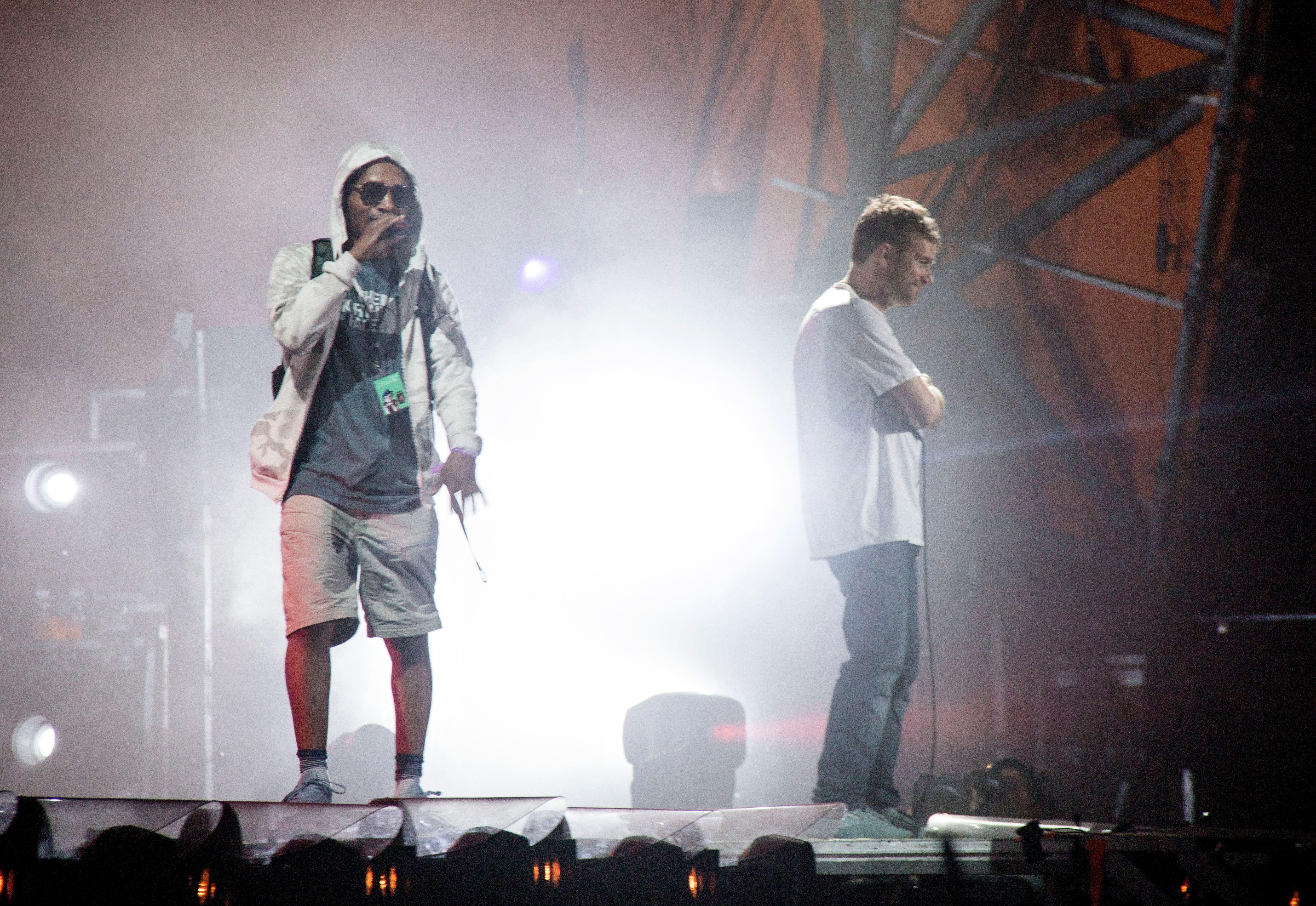 Gorillaz Abruptly End Roskilde Set After Rapper Falls Off Stage