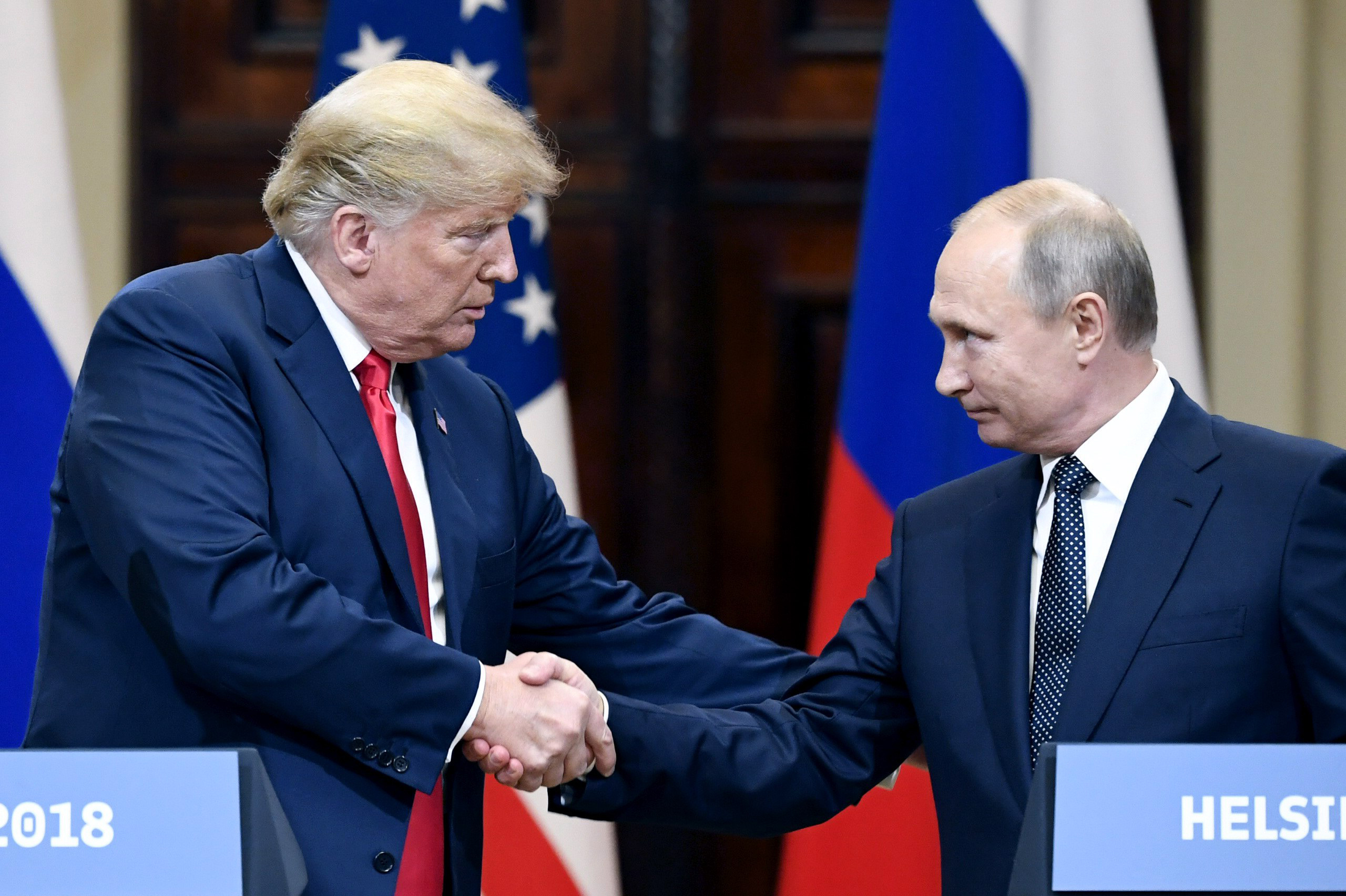 Image result for trump putin press conference
