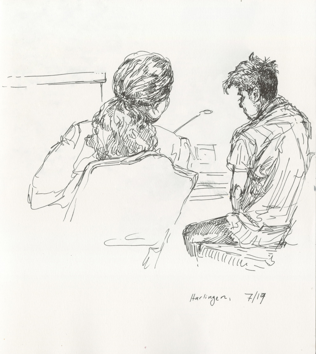 At the Harlingen court, where cases of unaccompanied minors are heard, the judge presided over the case of a 14-year old Guatemalan boy who only speaks K'iche', the indigenous Mayan language. The boy sat hunched staring at the table, listening to a translation piped into his ear. In tones as kind as she could manage, the judge told him he has been declared mature enough to represent himself against the Department of Homeland Security in an adversarial removal proceeding. Some 10,000 kids who have crossed the border alone are in federal custody, in privately run facilities with records of abuse.