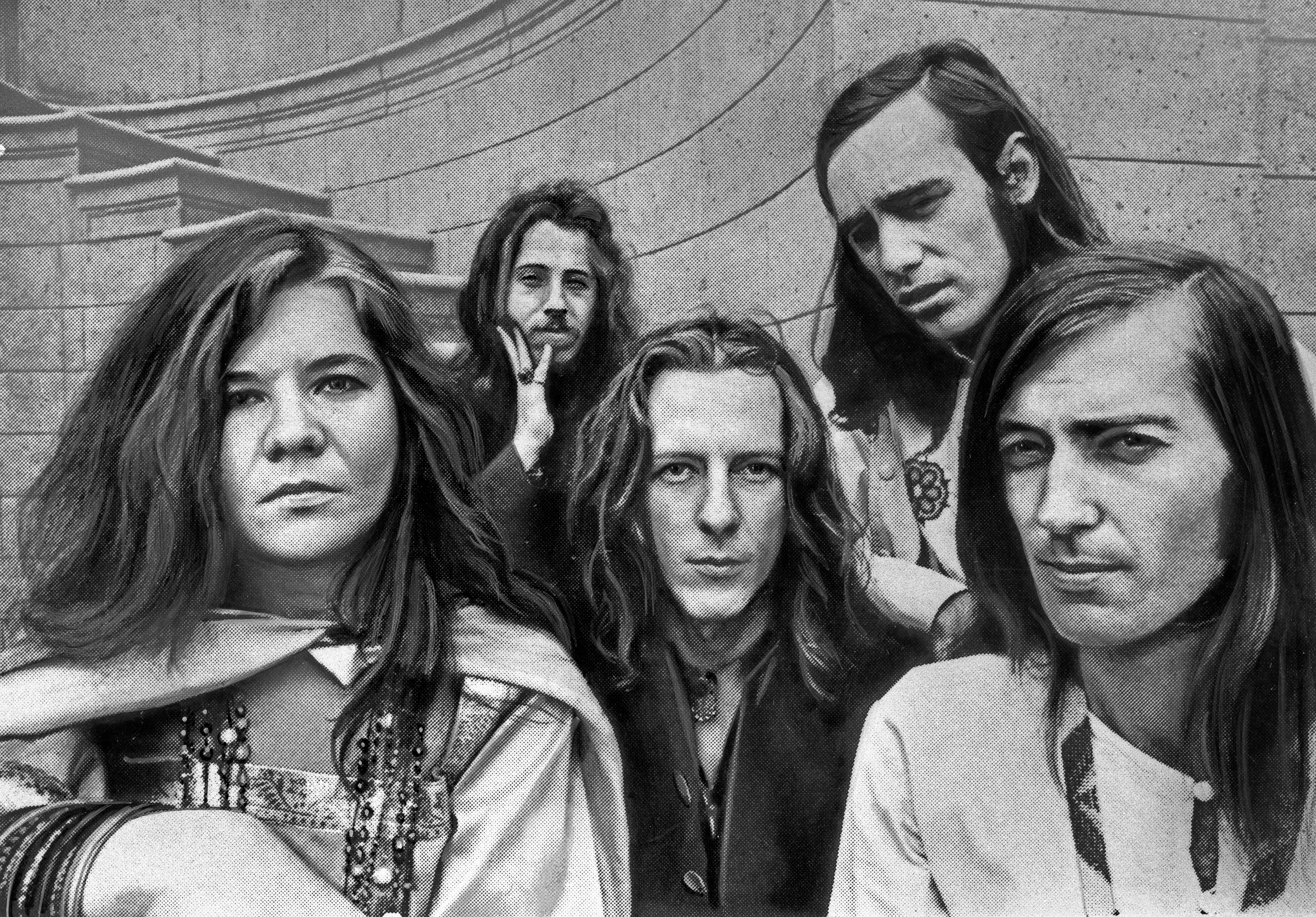 January 1, 1968 - Die amerikanische Sängerin Janis Joplin mit der Band Big Brother and the Holding Company, USA Ende 1960er Jahre. American singer Janis Joplin witth the band Big Brother and the Holding Company, USA end 1960s. Copyright: Roba/Roba-Archiv UnitedArchives03393 (Credit Image: © Imago via ZUMA Press)