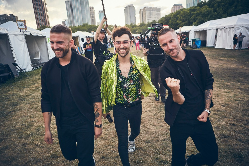 Galantis and MAX (center) recently teamed up for two new tracks.