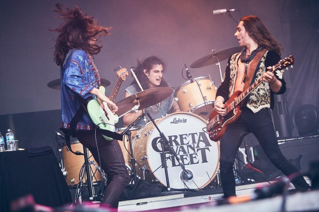 Greta Van Fleet brings the classic-rock thunder on Friday night