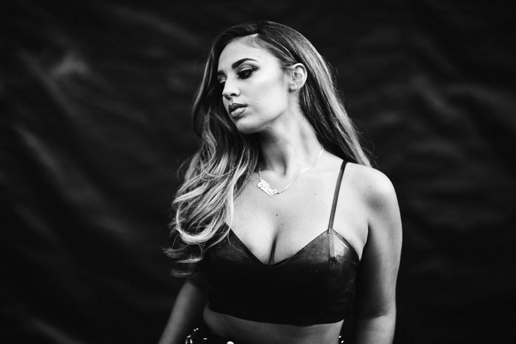 Singer-songwriter Alina Baraz on Friday night