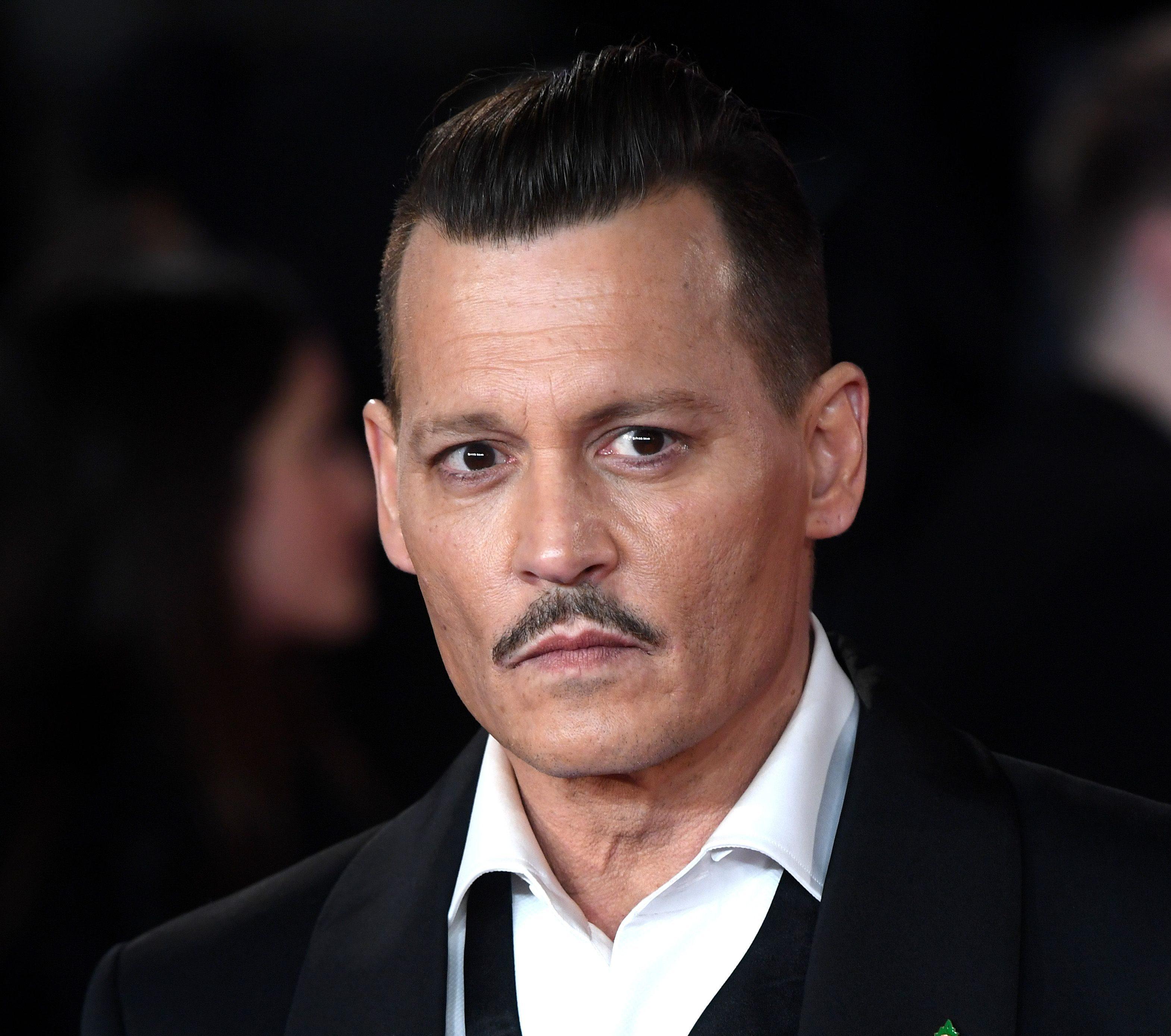 Johnny Depp'Murder on the Orient Express' film premiere, Arrivals, London, UK - 02 Nov 2017
