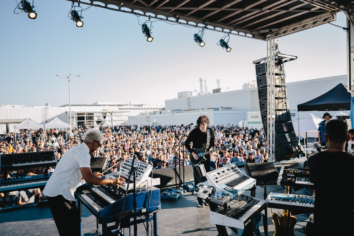 Jack White Stages Free Concert for Tesla Employees at California Plant