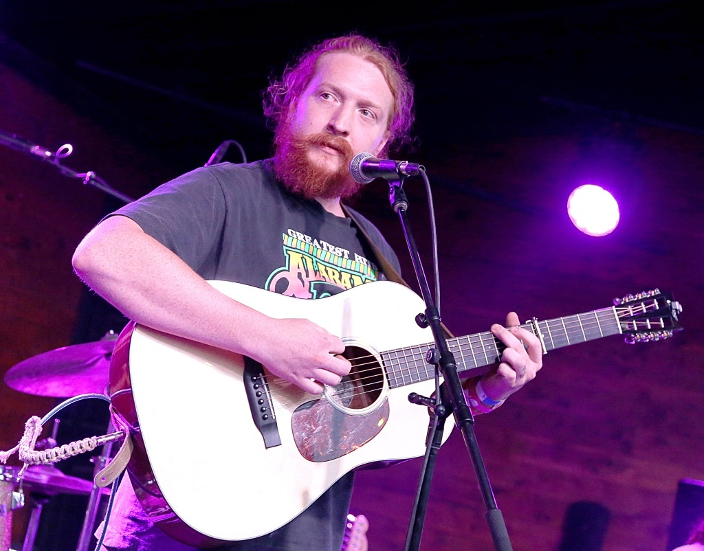 AUSTIN, TEXAS - JULY 19: Singer Tyler Childers performs in concert at the Historic Scoot Inn on July 19, 2018 in Austin, Texas. (Photo by Gary Miller/Getty Images)