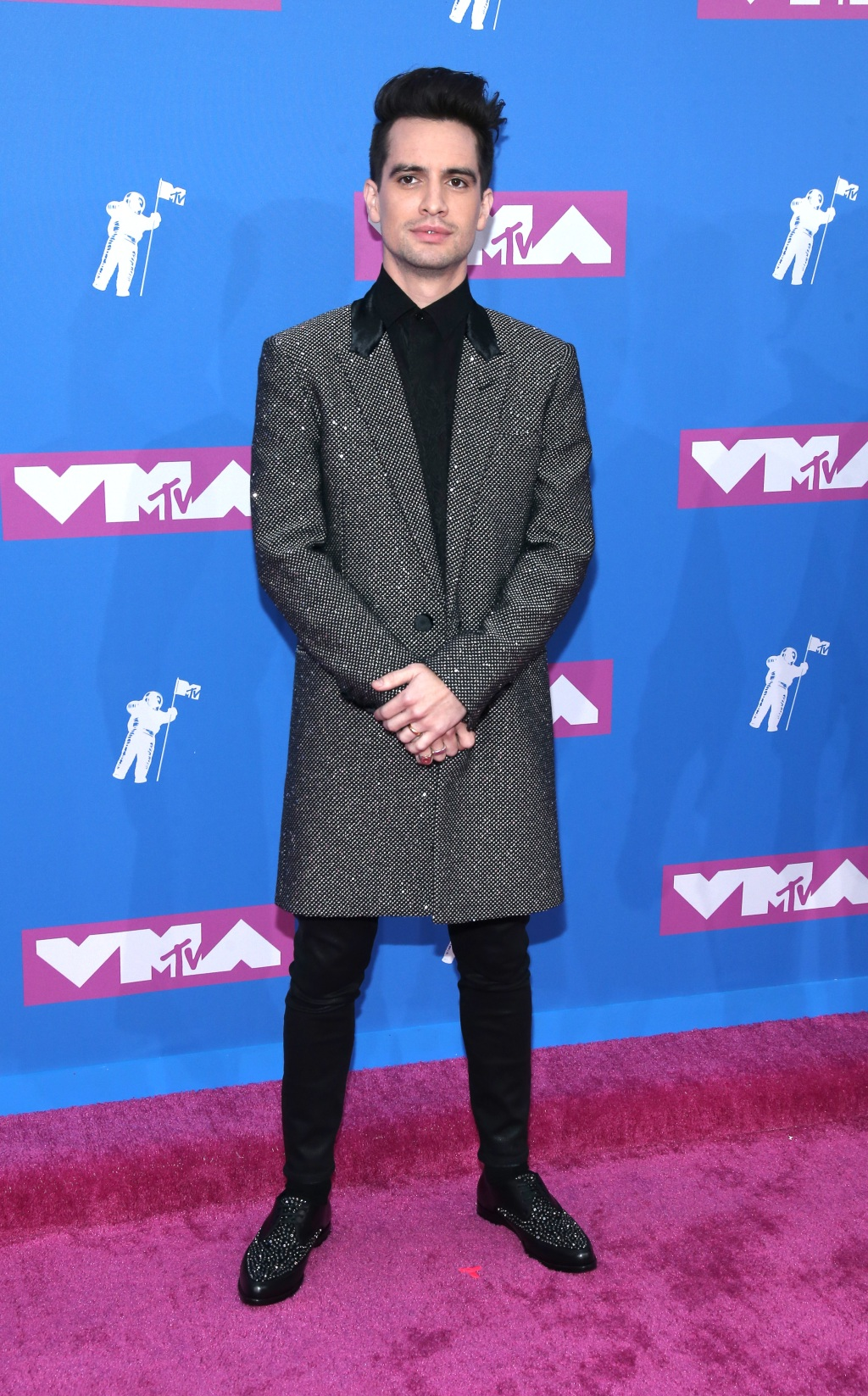 Brendon Urie of Panic! At The Disco (Photo by Paul Zimmerman/WireImage)