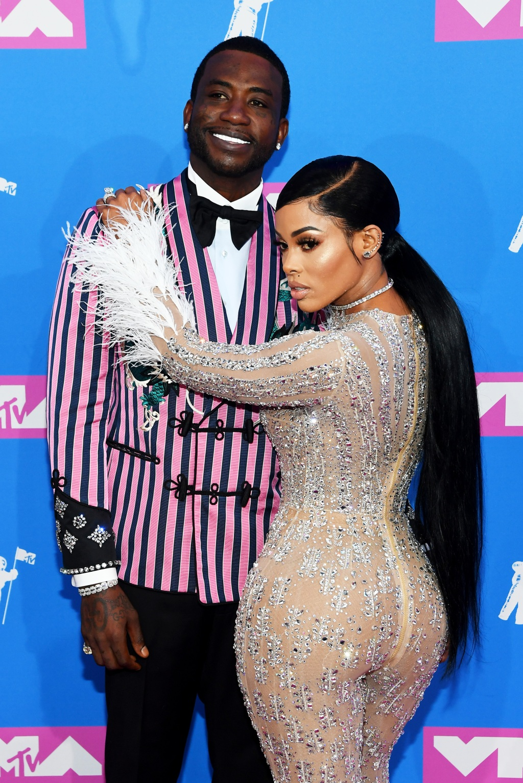 Gucci Mane and Keyshia Ka'Oir (Photo by Nicholas Hunt/Getty Images for MTV)