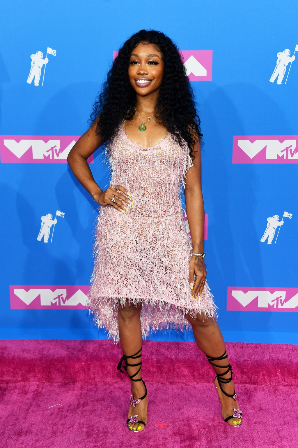 SZA attends the 2018 MTV Video Music Awards at Radio City Music Hall on August 20, 2018 in New York City. (Photo by Nicholas Hunt/Getty Images for MTV)