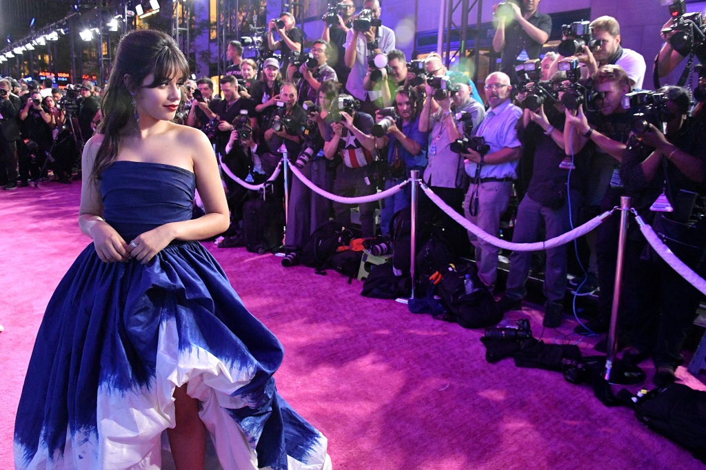 Camila Cabello attends the 2018 MTV Video Music Awards at Radio City Music Hall on August 20, 2018 in New York City. (Photo by Dia Dipasupil/Getty Images for MTV)