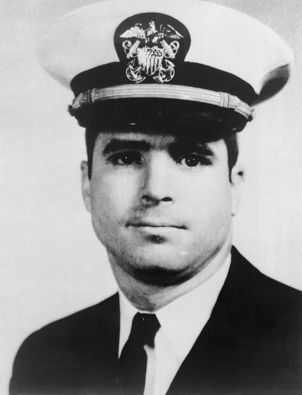 McCain during his years in the military.