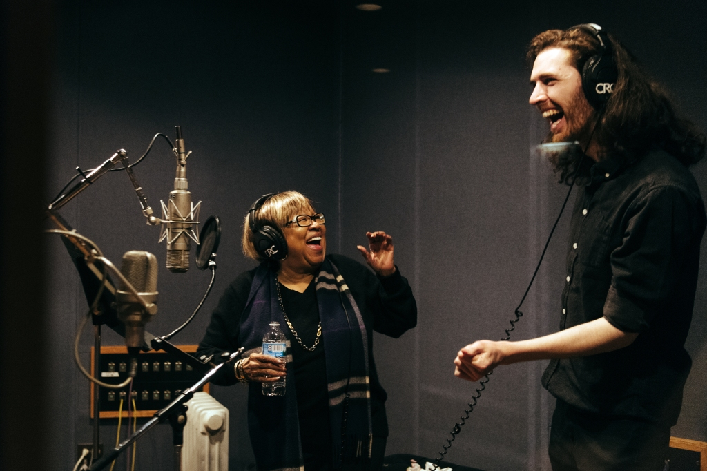 hozier mavis staples recording studio