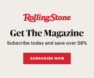 Subscribe to RollingStone Magazine