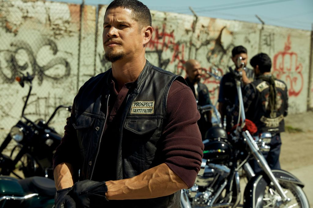 After the failure of his Welsh fantasy epicBastard Executioner, Kurt Sutter revs back into familiar territory with thisSons of Anarchyspin-off about a rival motorcycle club, with a Latino cast fronted by JD Pardo (left) and Edward James Olmos. The early returns aren't hugely promising, but if Sutter's ever going to get back thatSonsSeason Two fastball, this seems a likely place.  A.S.