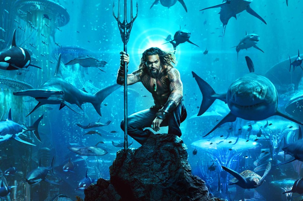 "Jason Mamoa — who left us wanting more of his Aquaman after some way-too-brief scenes in Batman v. Superman and Justice League — gets his star spot in this solo adventure, with Nicole Kidman, Amber Heard, Willem Dafoe and Patrick Wilson lending support. The actor vows that this underwater superhero is anything but the weak link of the D.C. Universe, and that ""no one's seen an underwater world like this in live action."" Sounds fishy to us, but ok! PT Watch the Trailer"