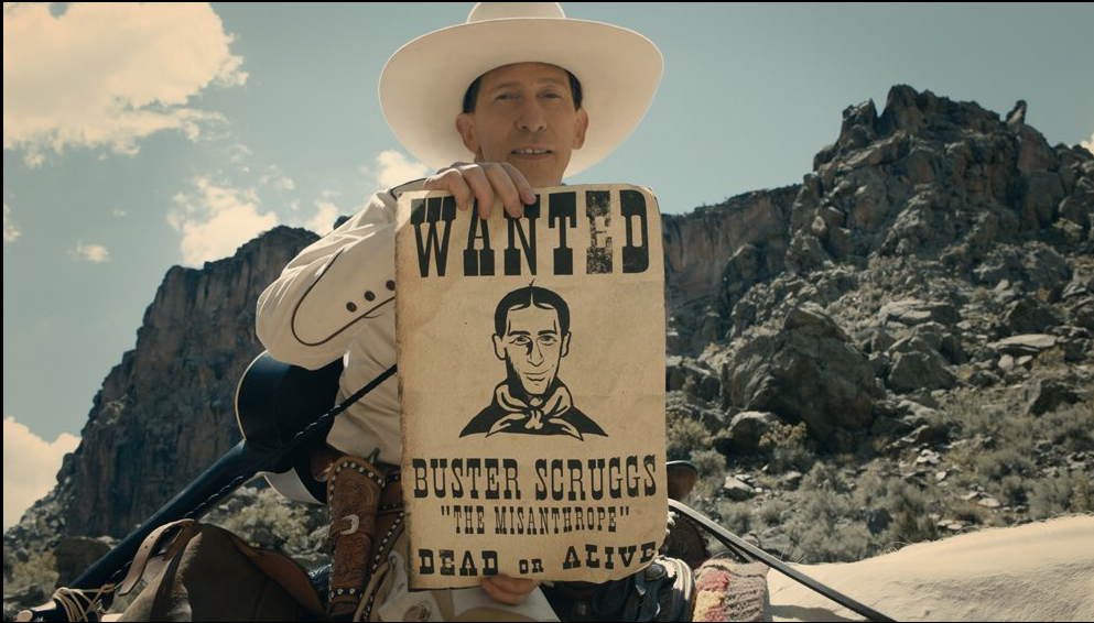 Remember when Joel and Ethan Coen said they were doing a Western anthology series for Netflix? Guess again. The Ballad of Buster Scruggs is now a full-fledged, six-chapter feature, starring Tim Blake Nelson (one third of O Brother Where Art Thou's three stooges) as the man they call Buster. And since this is the Coen brothers we're talking about here, there's no way in hell that any true film buff is not going to rush out and see it no matter what form it's in. PT