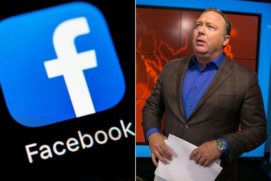 alex jones infowars facebook