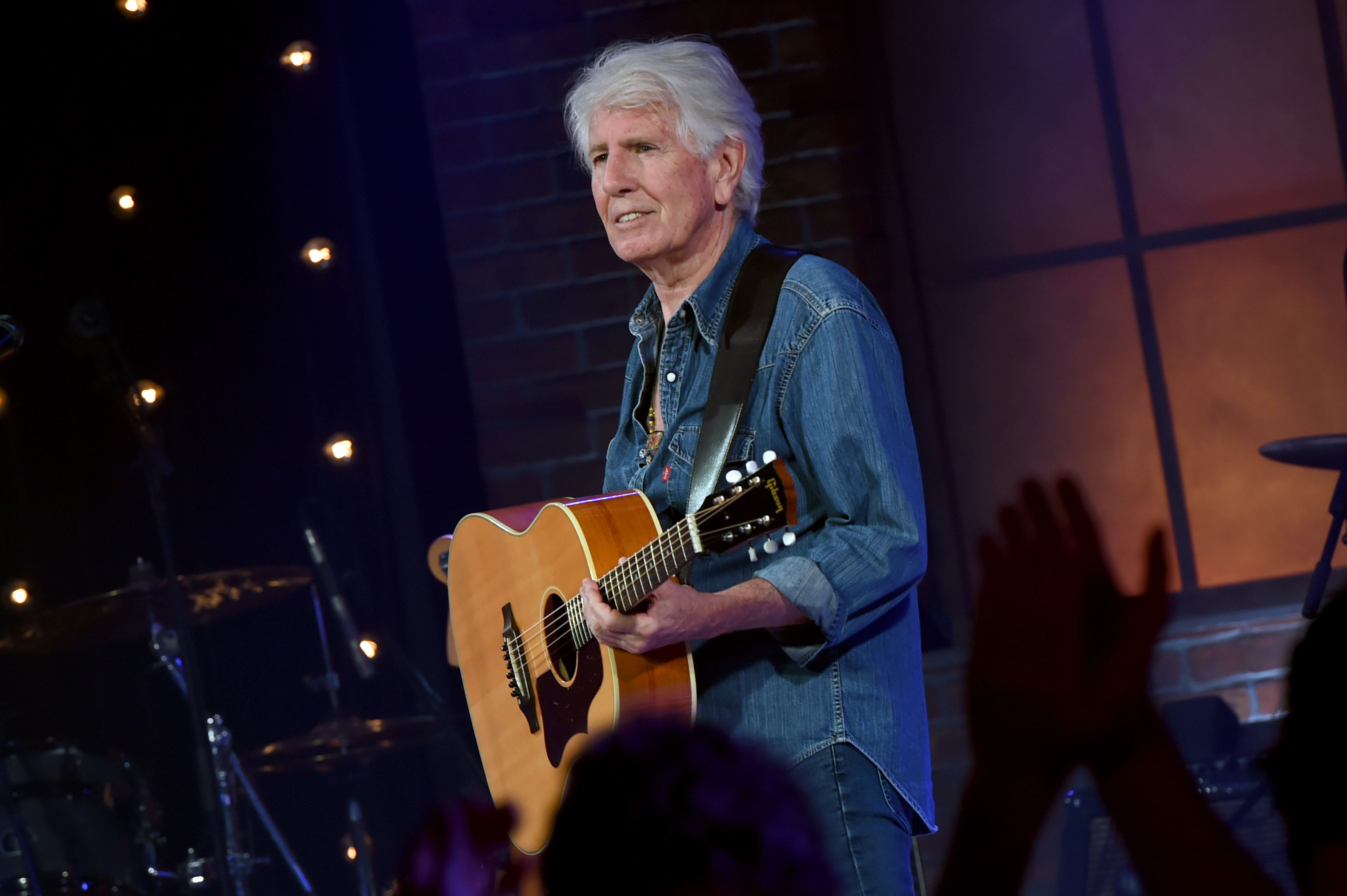 Watch Graham Nash Honor 1968, 2018 Protests With New 'Teach Your Children' Video
