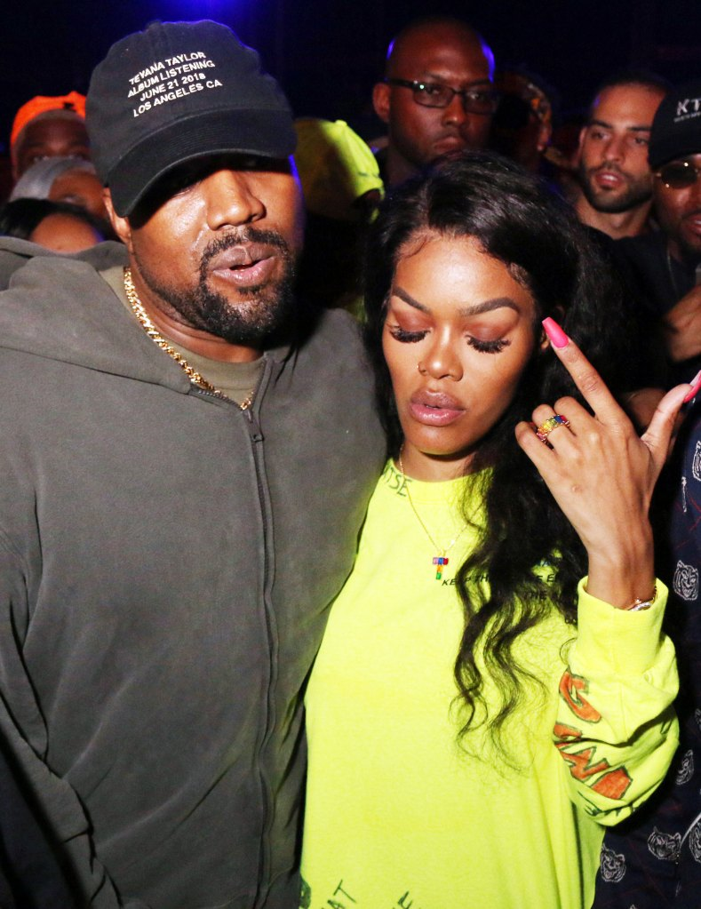 Kanye West and Teyana TaylorTeyana Taylor #KTSE Album Listening Party, Los Angeles, USA - 21 Jun 2018