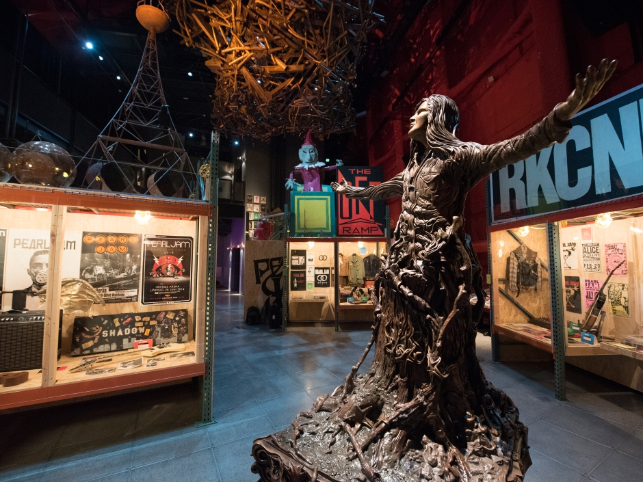Inside Pearl Jams Epic Seattle Exhibit With Jeff Ament